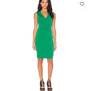 DVF Layne Dress in Emerald Sea